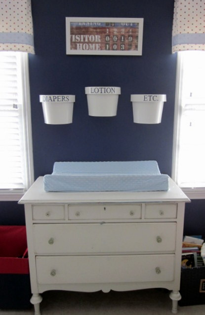 chianging table - landons room