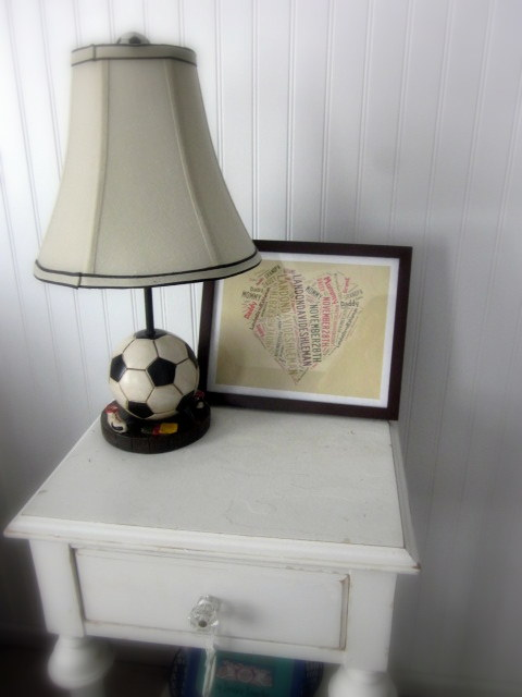 lamp table- landons room