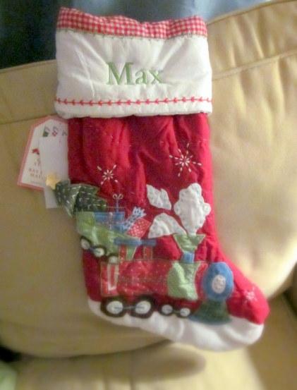 Max's stocking