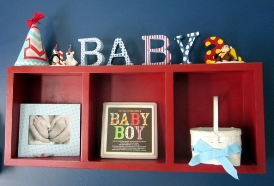 shelf two - landons room