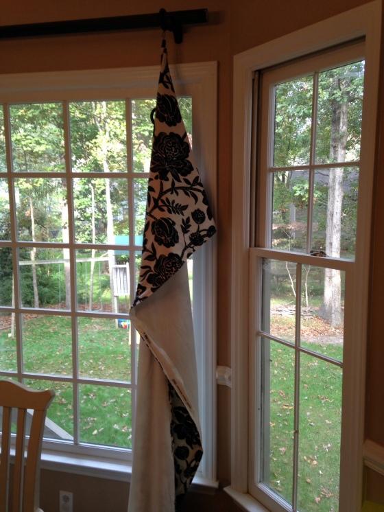 fallen curtain