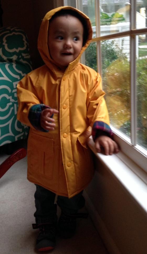 Max rain jacket blog